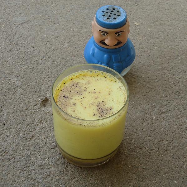 turmeric milk for cough
