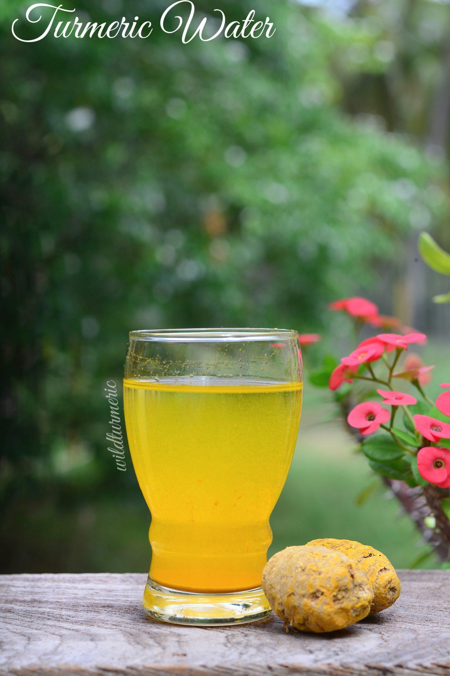 turmeric water benefits