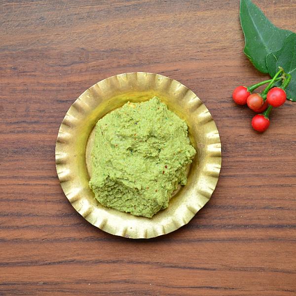 Thoothuvalai keerai thuvaiyal recipe