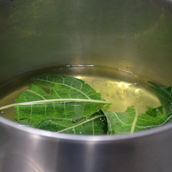 how to prepare papaya leaf juice