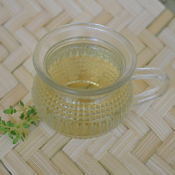 thyme tea recipe for cough