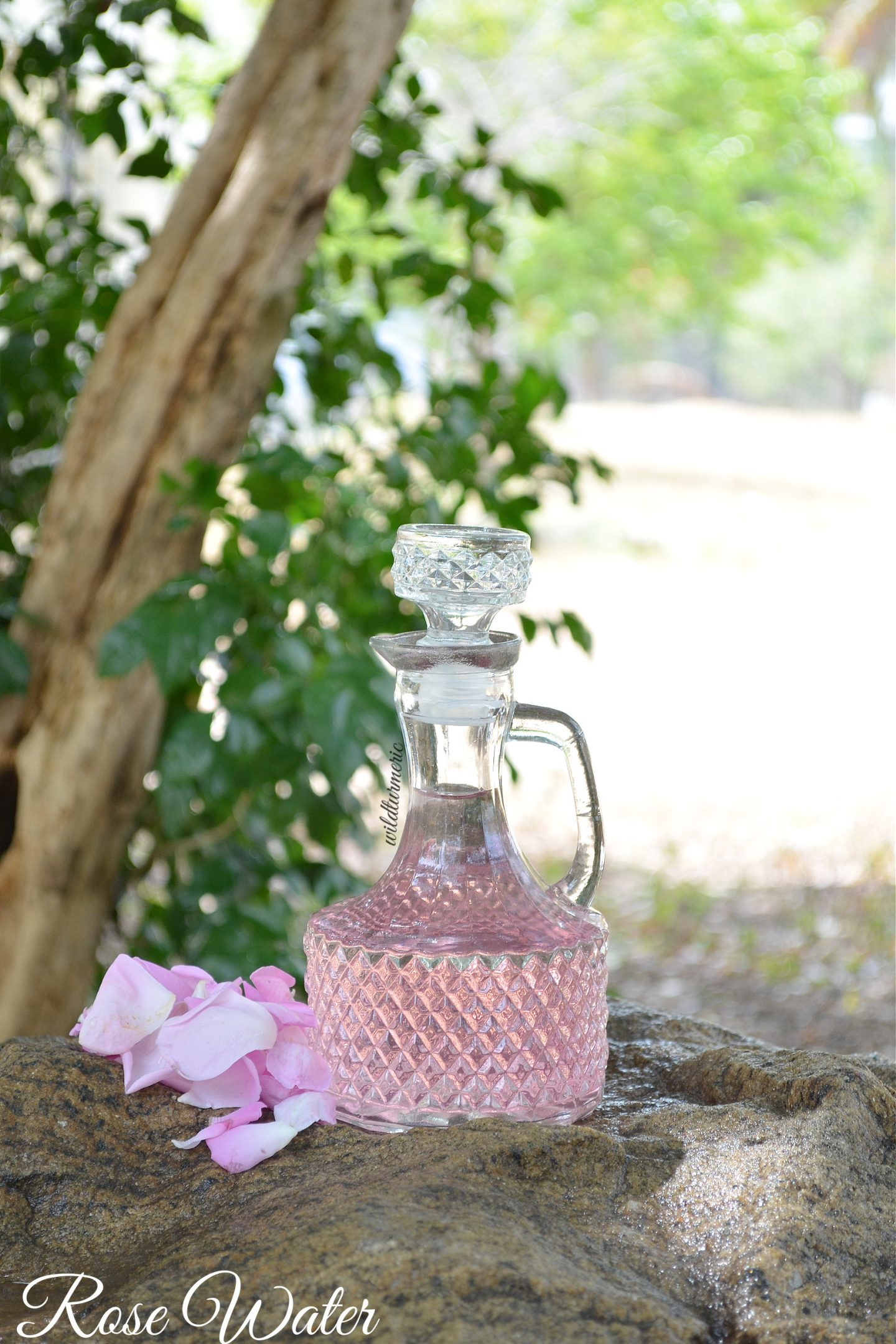 rose water for face