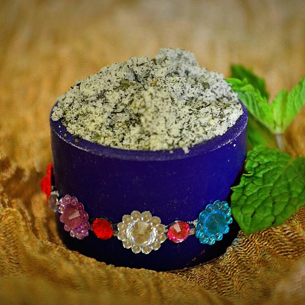 mint (pudina) for teeth
