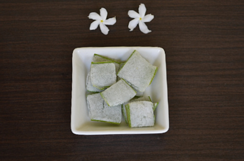 Aloe Vera Ice Cubes For Face