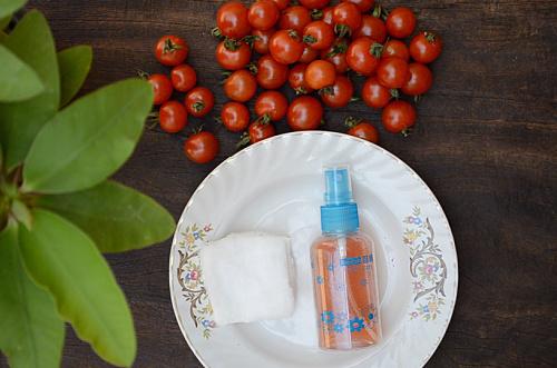 tomato face toner