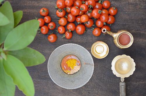 tomato face scrub recipe