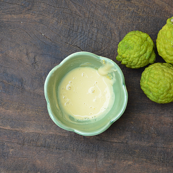 kaffir lime for skin