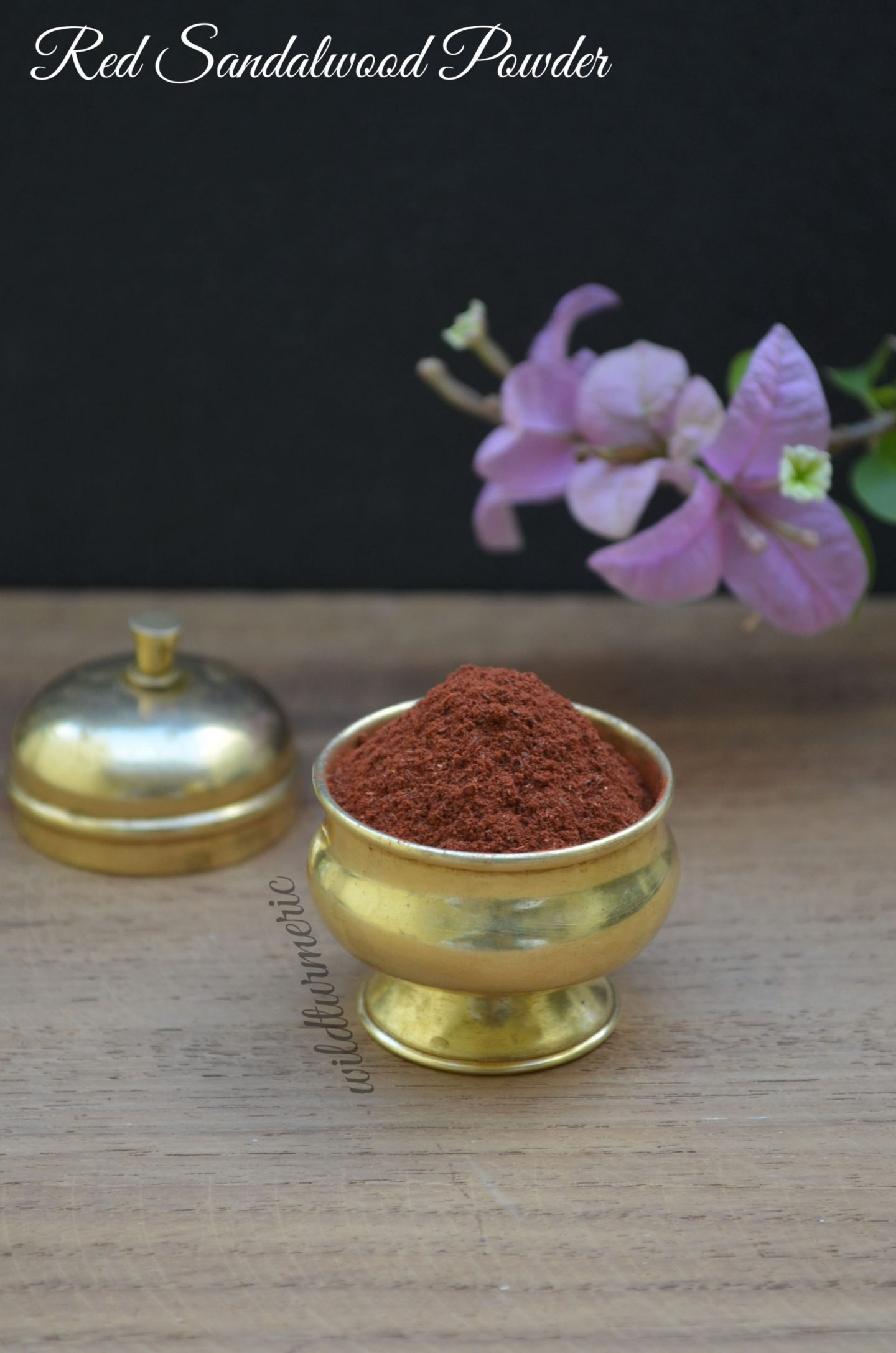 red sandalwood powder for face