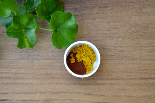 red sandalwood & turmeric for dark spots