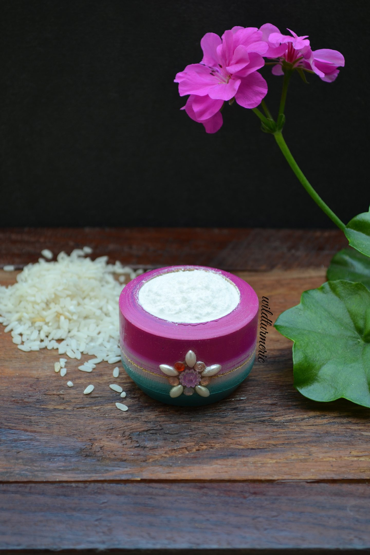 rice flour for skin