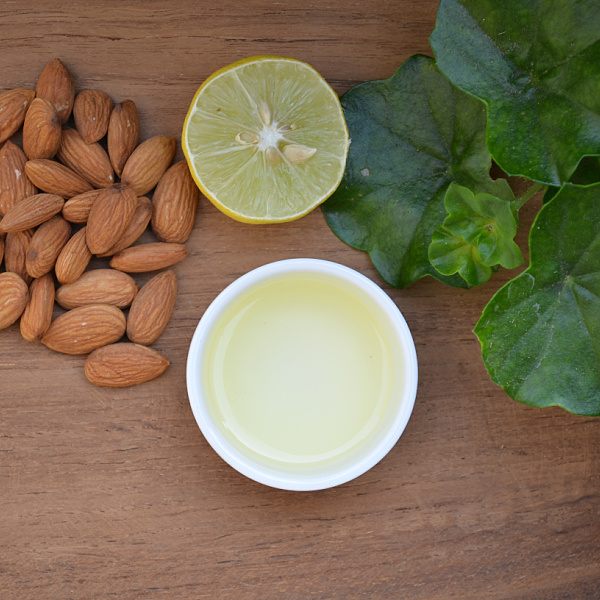 sweet almond oil for hair growth