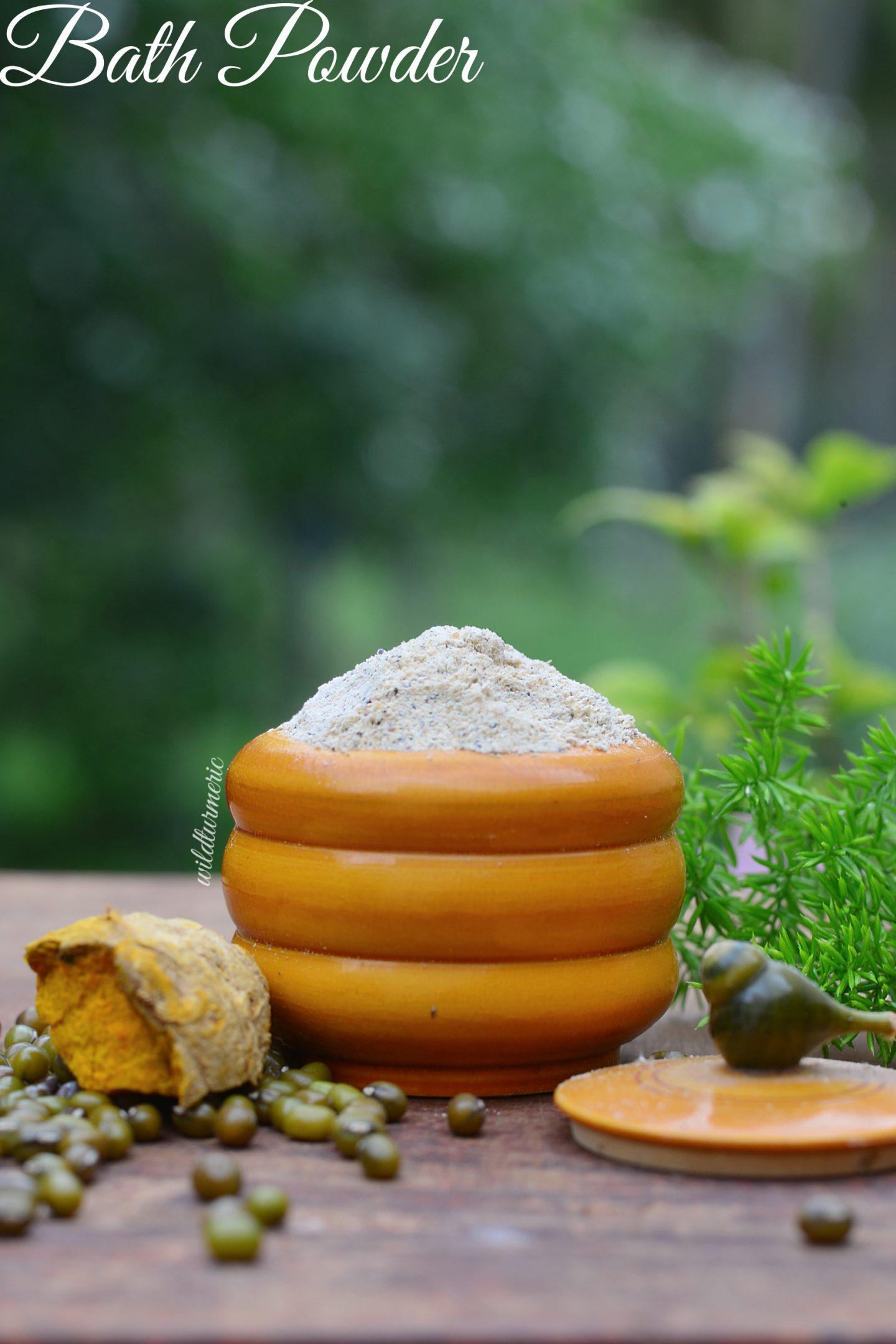 herbal bath powder recipe