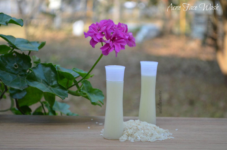 acne face wash recipes