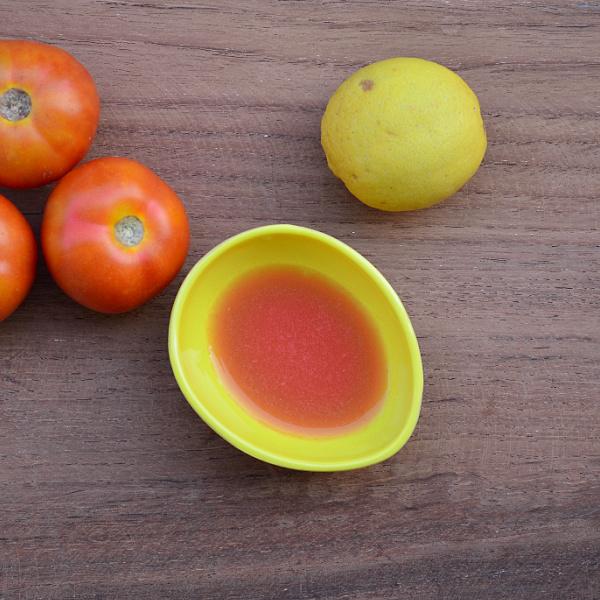 tomato and lemon face pack for dark spots