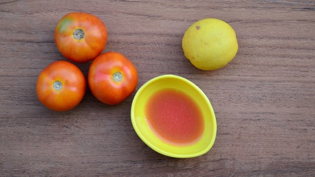 tomato and lemon face pack for dark spots