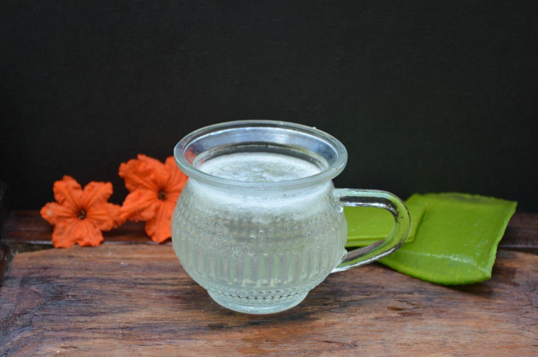 aloe vera juice for hair growth